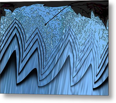 In The Eye Of The Storm 3 Metal Print by Tim Allen