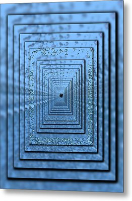 In The Eye Of The Storm 5 Metal Print by Tim Allen