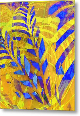 In The Garden Metal Print by Ann Powell