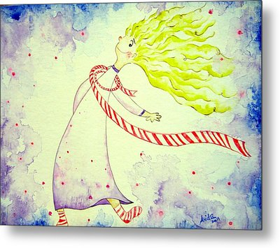 In The Happiness Metal Print