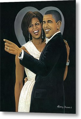 Inaugural Ball Metal Print by Henry Frison