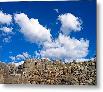 Inca Ruins Metal Print