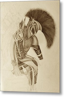 Incomplete Guardian  Metal Print by Melissa Cabigao