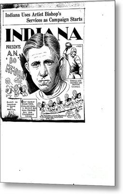 Indiana Sports Metal Print