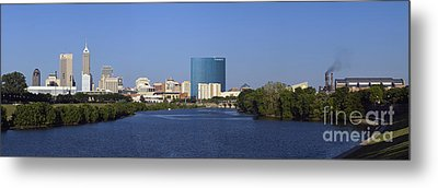 Indianapolis - D007990 Metal Print by Daniel Dempster