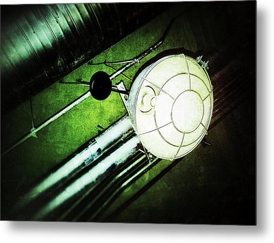 Industrial Light Metal Print by Olivier Calas
