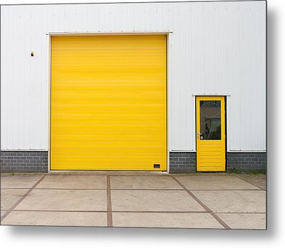 Industrial Warehouse Metal Print by Hans Engbers