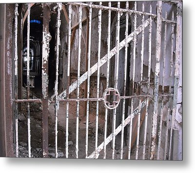 Metal Print featuring the photograph Infirmary Gate by Christophe Ennis
