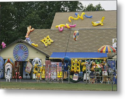 Inflatable Rafts And Beach Toys Metal Print by Darlyne A. Murawski