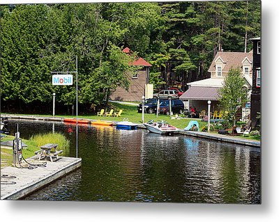 Metal Print featuring the photograph Inlet On Seven Lakes by Ann Murphy