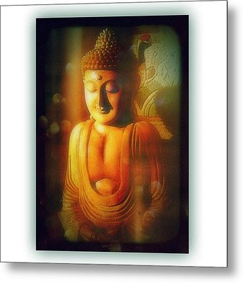 Inner Light Shines Through Metal Print by Paul Cutright