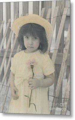 Metal Print featuring the photograph Innocence by Lori Mellen-Pagliaro