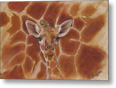 Innocence Metal Print by Michelle Wolff