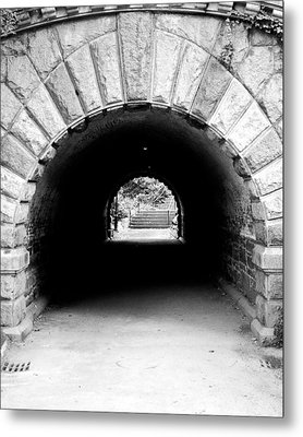 Inscope Arch Metal Print by Michael Dorn
