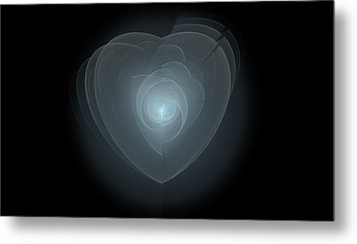 Inside A Scorned Heart Metal Print by Pennie Gibson