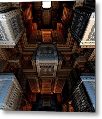 Inside The Box Metal Print by Ricky Jarnagin