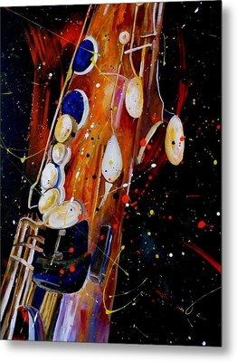 Instrument Of Choice Metal Print