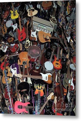 Instruments Metal Print by Chalet Roome-Rigdon