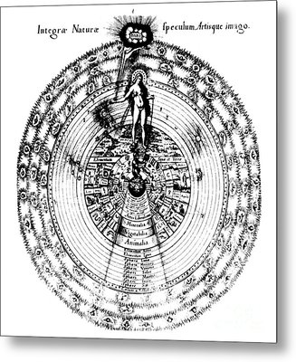 Integrae Naturae, 17th Century Metal Print by Science Source
