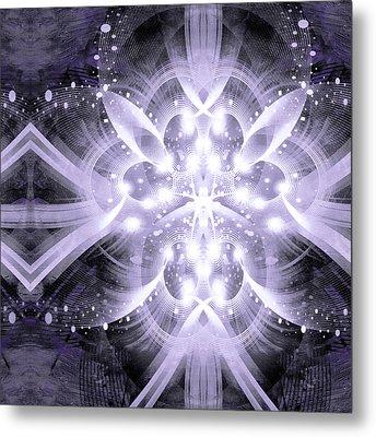 Intelligent Design 4 Metal Print by Angelina Vick