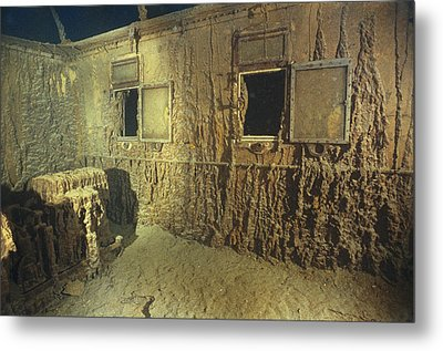 Interior Of A First Class Cabin Metal Print by Emory Kristof