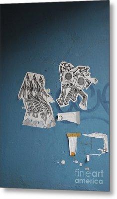 International Robots Metal Print by Jen Bodendorfer