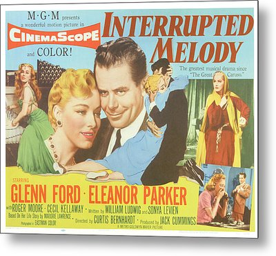 Interrupted Melody, Center From Left Metal Print by Everett