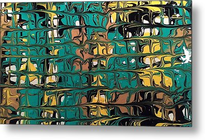 Intersection Metal Print by Lisa Williams