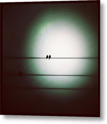 Into The Light - Instagram Photo Metal Print by Marianna Mills