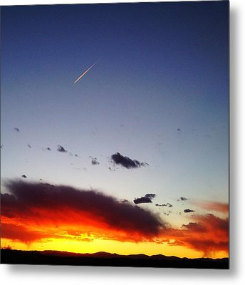Metal Print featuring the photograph Into The Sun by Paul Cutright