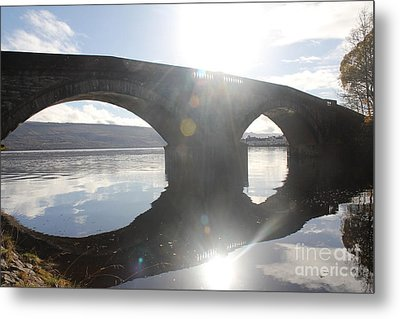 Inveraray Bridge Metal Print by David Grant
