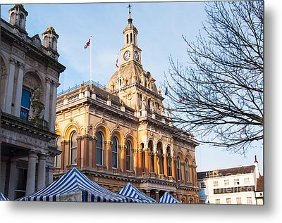 Ipswich Town Hall Metal Print by Andrew  Michael