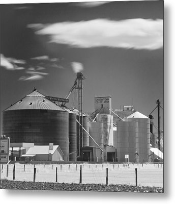 Ir Palouse  Wa Metal Print by Tony Locke