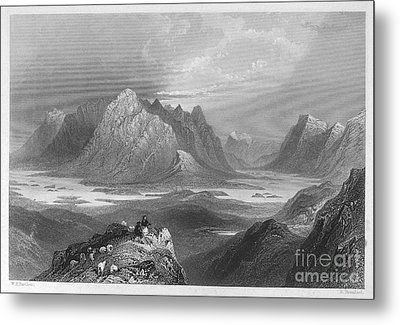 Ireland: Lough Inagh, C1840 Metal Print by Granger