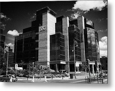 Irelands Ifsc International Financial Services Centre In Dublins Docklands Dublin City Centre Metal Print by Joe Fox
