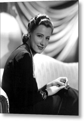 Irene Dunne, Paramount Pictures, 1939 Metal Print by Everett