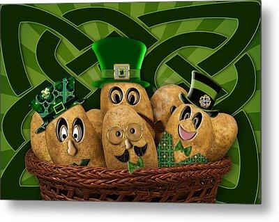 Irish Potatoes Metal Print by Trudy Wilkerson