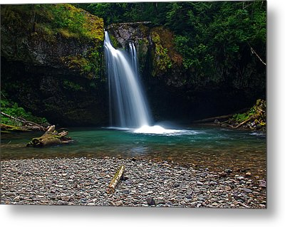 Iron Creek Falls 2 Metal Print by Marcus Angeline