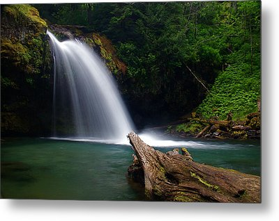 Iron Creek Falls 3 Metal Print by Marcus Angeline