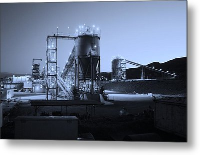 Iron Duke Mine 02 Metal Print by David Barringhaus