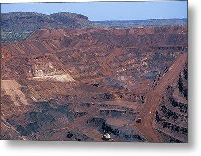 Iron Mine Metal Print by Dirk Wiersma