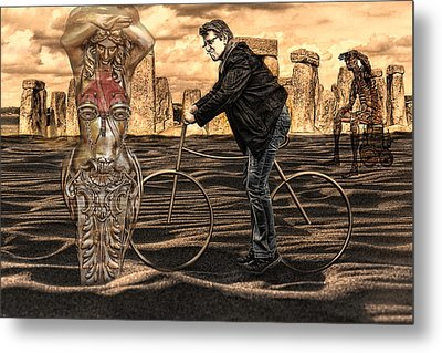 is it art  or can I clean it up Metal Print by Joachim G Pinkawa