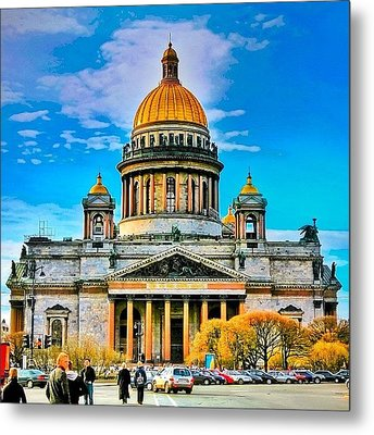 Isaak's Cathedral The Heaviest Metal Print by Tommy Tjahjono