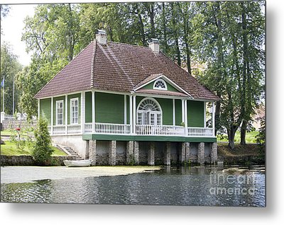 Isabella Bathouse Metal Print by Jaak Nilson