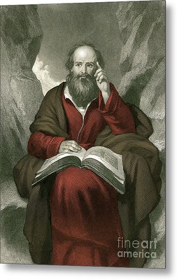 Isaiah, Old Testament Prophet Metal Print by Photo Researchers