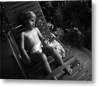 Metal Print featuring the photograph Island Dreamgirl by Lennie Green