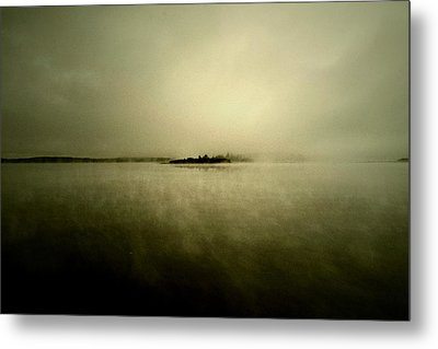 Island Of Mystic  Metal Print by Jerry Cordeiro