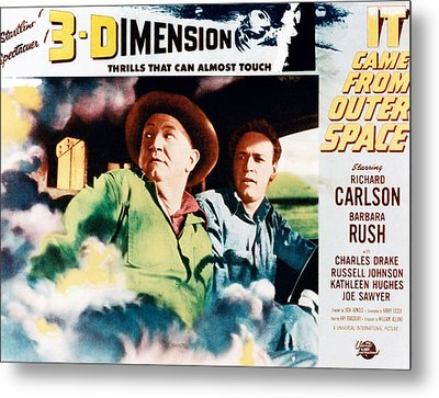 It Came From Outer Space, From Left Joe Metal Print by Everett