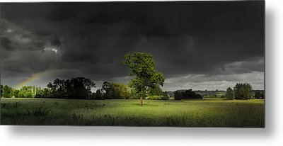 Metal Print featuring the photograph It Can't Rain All The Time by John Chivers