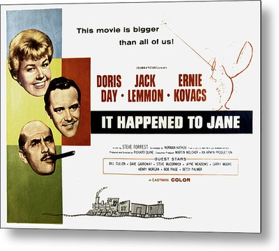 It Happened To Jane, Doris Day, Jack Metal Print by Everett